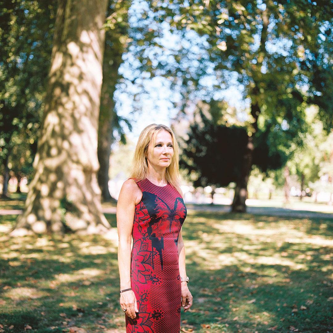 Valérie Chivot, directrice de la boutique Mauboussin à Strasbourg