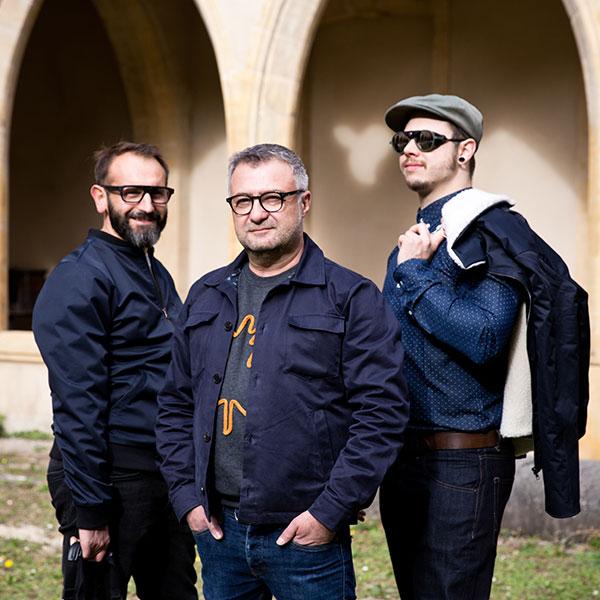 Domenico, Nicolas, Julien de La Cour des Hommes à Metz