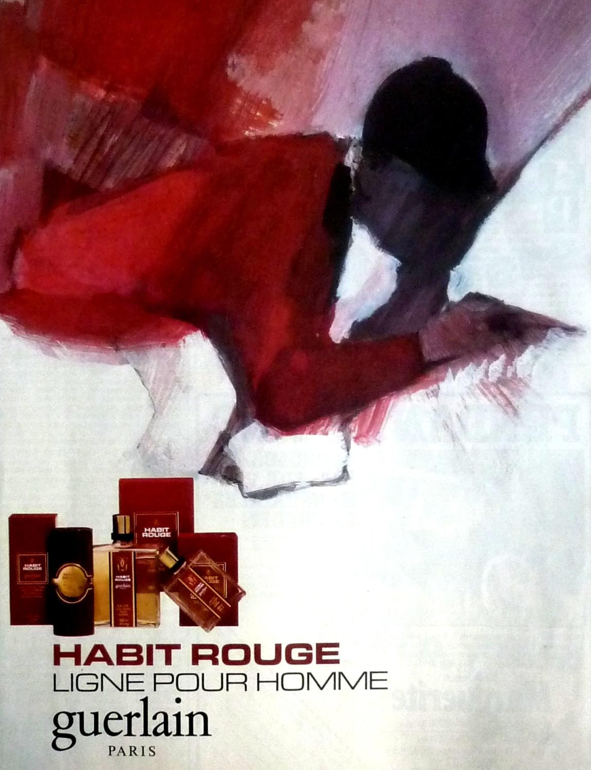 Rouge Magazine Parfum Culte GuerlainUn Zut Habit De 354LAqRj
