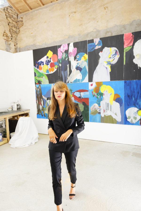 Stéphanie-Lucie Mathern au St-Art à Strasbourg