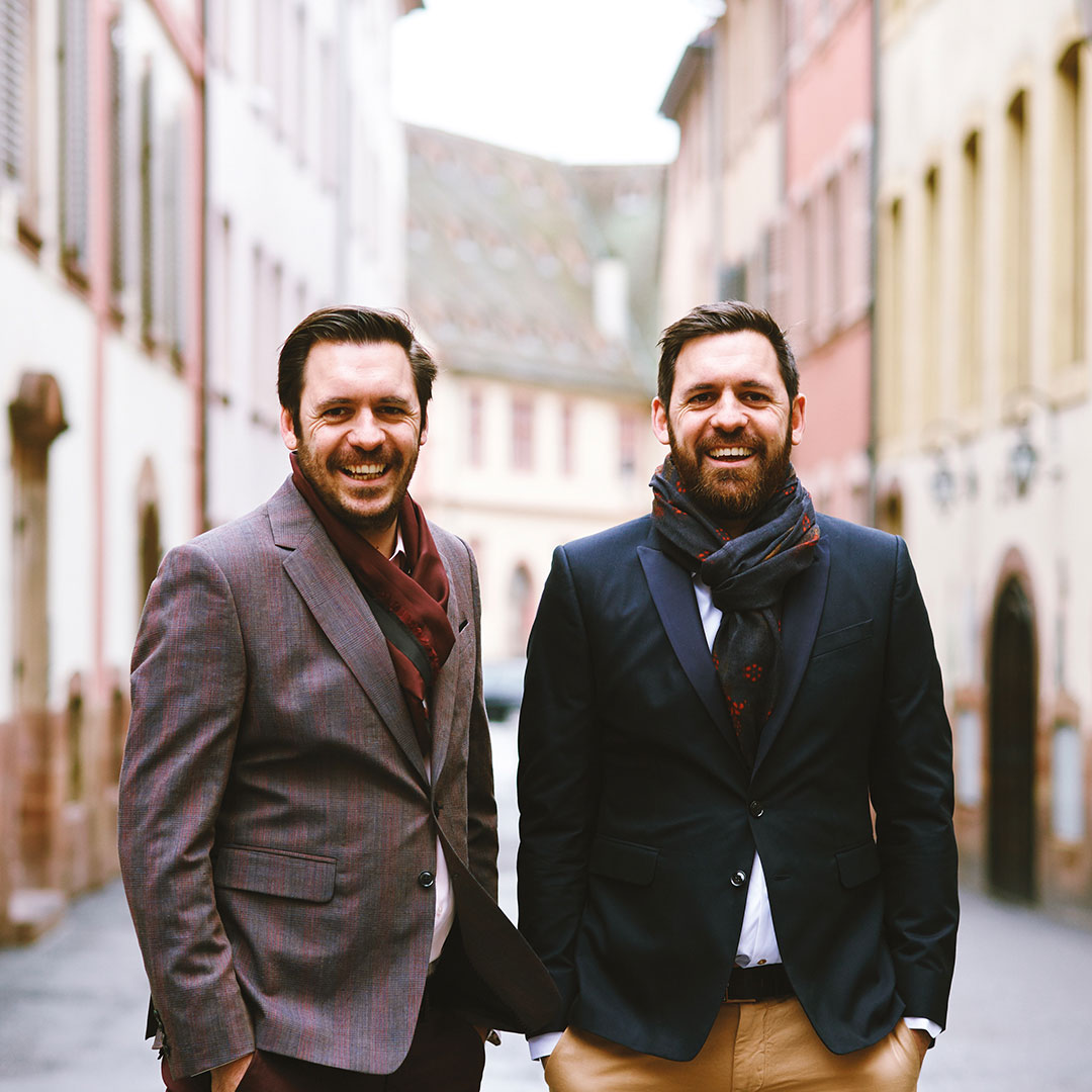 Antoine et Matthieu Ghiles, gérants de bars à Strasbourg