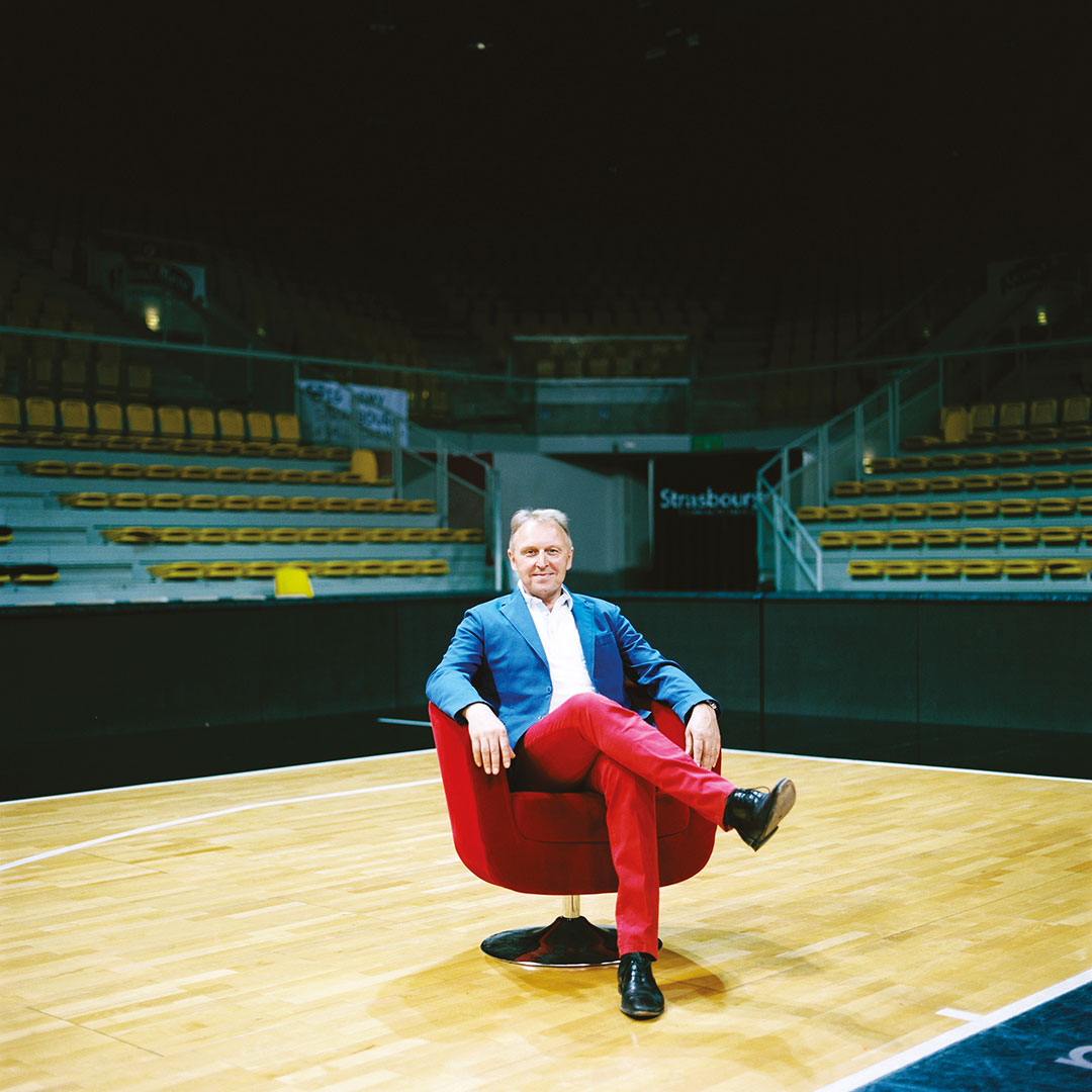 Jean-Jacques Mahr, président du groupe Eventail à Strasbourg
