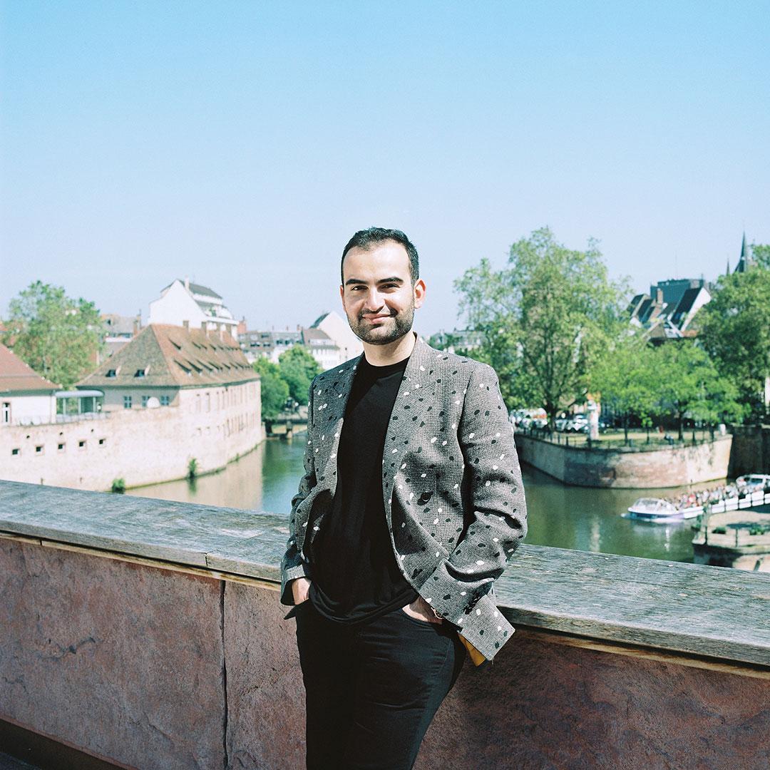Murat Sancar, propriétaire du Banquet des Sophistes à Strasbourg
