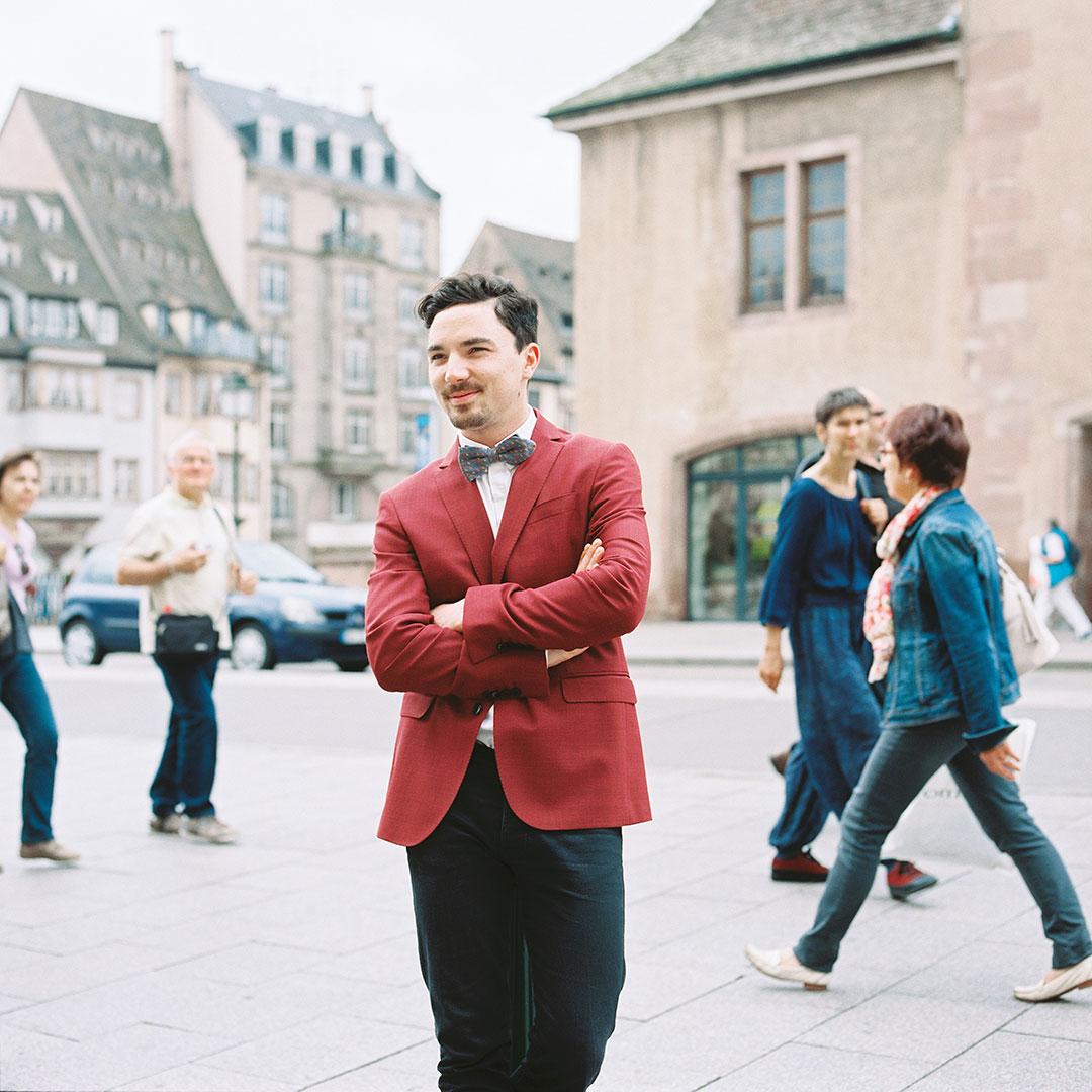 Nicolas Di Pol Moro, chef et gérant du Bistrot Coco à Strasbourg