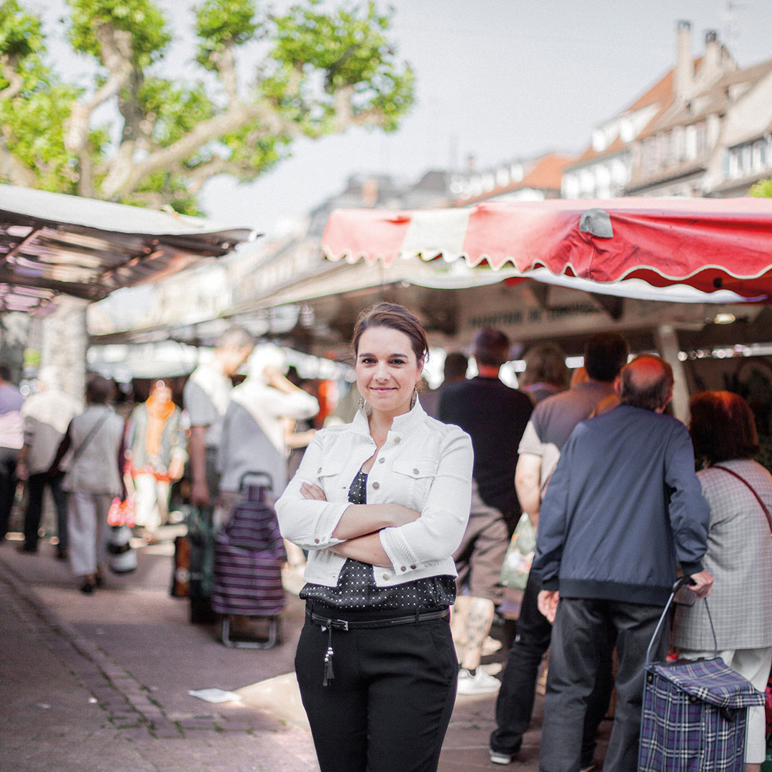 Virginie Holm, Guide et fondatrice de Food & City Tours à Strasbourg