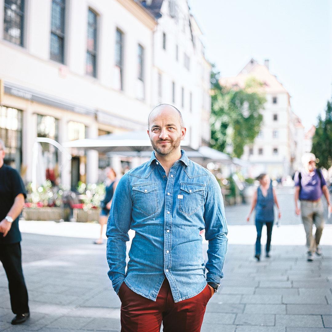 Laurent Arnoult, comédien et humoriste à Strasbourg