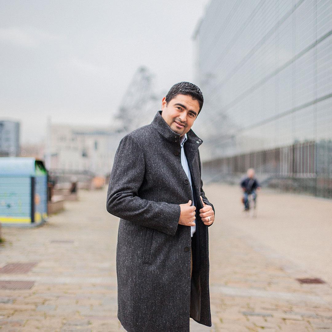 Salah Benzakour, entrepreneur et fondateur de TEDxAlsace à Strasbourg