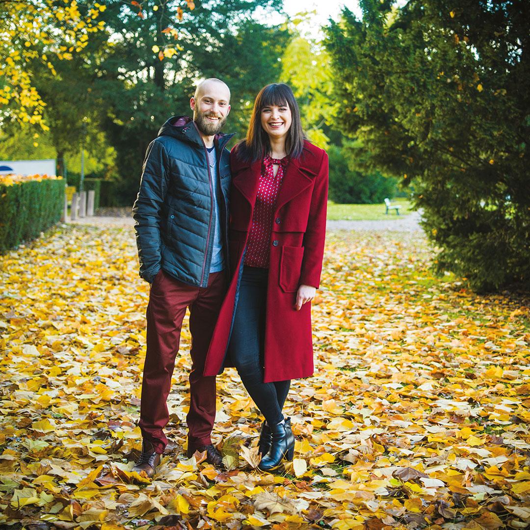 Vanessa Rochmann et Charles Sengel, Propriétaires de Qu'est-ce qu'on mange? à Strasbourg
