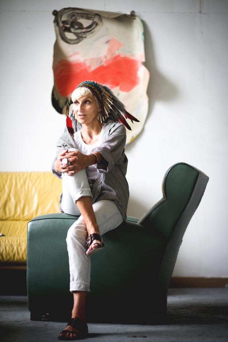 Portrait d'Anne Sophie Tschiegg pour ZUT - Photo : Klara Beck