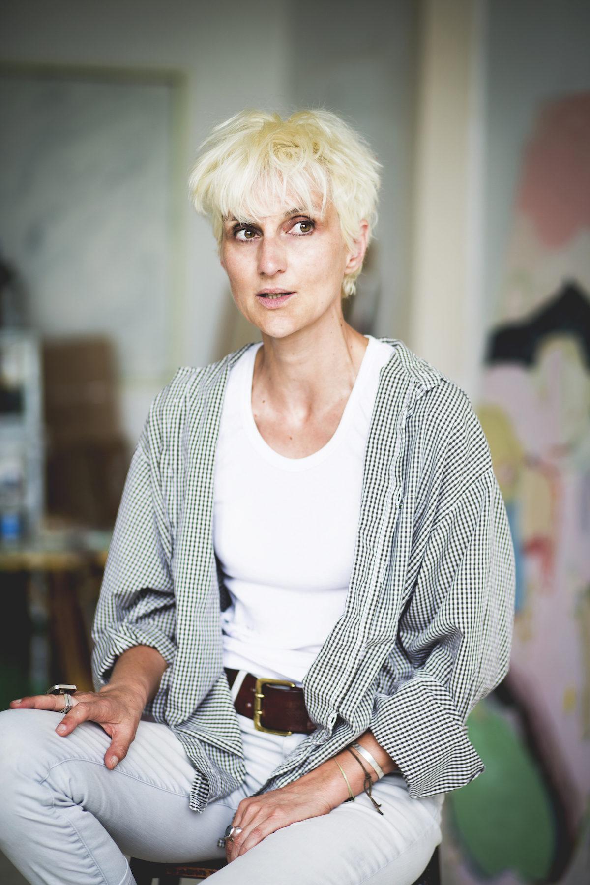 portrait Anne Sophie Tschiegg - ZUT - Photo : Klara Beck