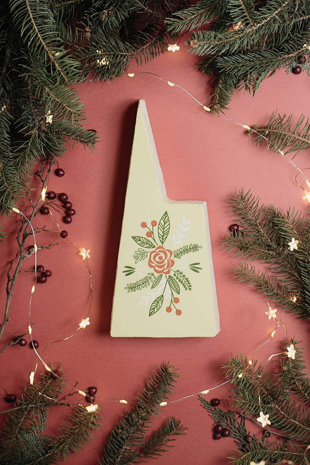 La bûche de Noël sans lactose de GatÔ à Strasbourg, imaginée avec Amandine Giraudo (Atelier Maison Magique).
