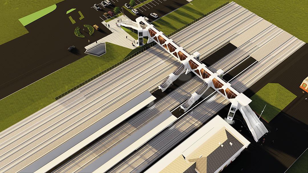 Le nouveau bâtiment de la gare sera au cœur d'un Pôle d'échanges Multimodal, qui répond aux enjeux de mobilité et d'attractivité de la ville et au-delà.