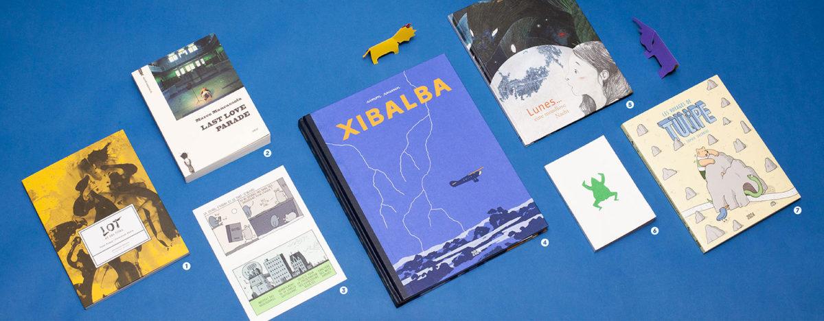 Sélection de livres présentés au pop de Noël Zut, éditions 2024, Dernière goutte, KidiKunst, chicmedias.