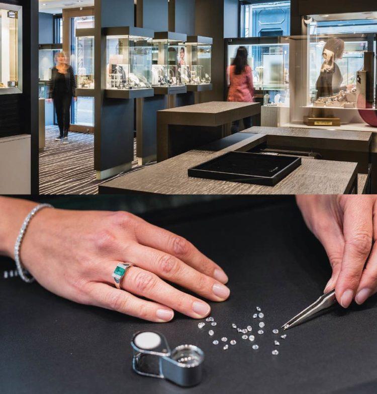 La bijouterie Michel, horlogerie, pierres précieuses et bijoux à Haguenau.