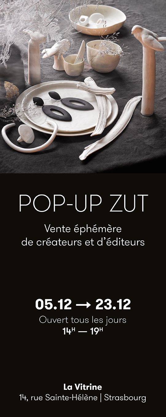 Pop up de Noël à La Vitrine Zut - 14, rue Saint-Hélène à Strasbourg
