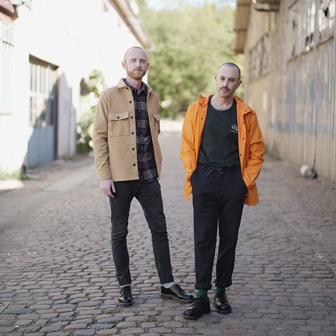 Vincent Petit et Maxime Martin, designers du Studio Petit Martin à Strasbourg