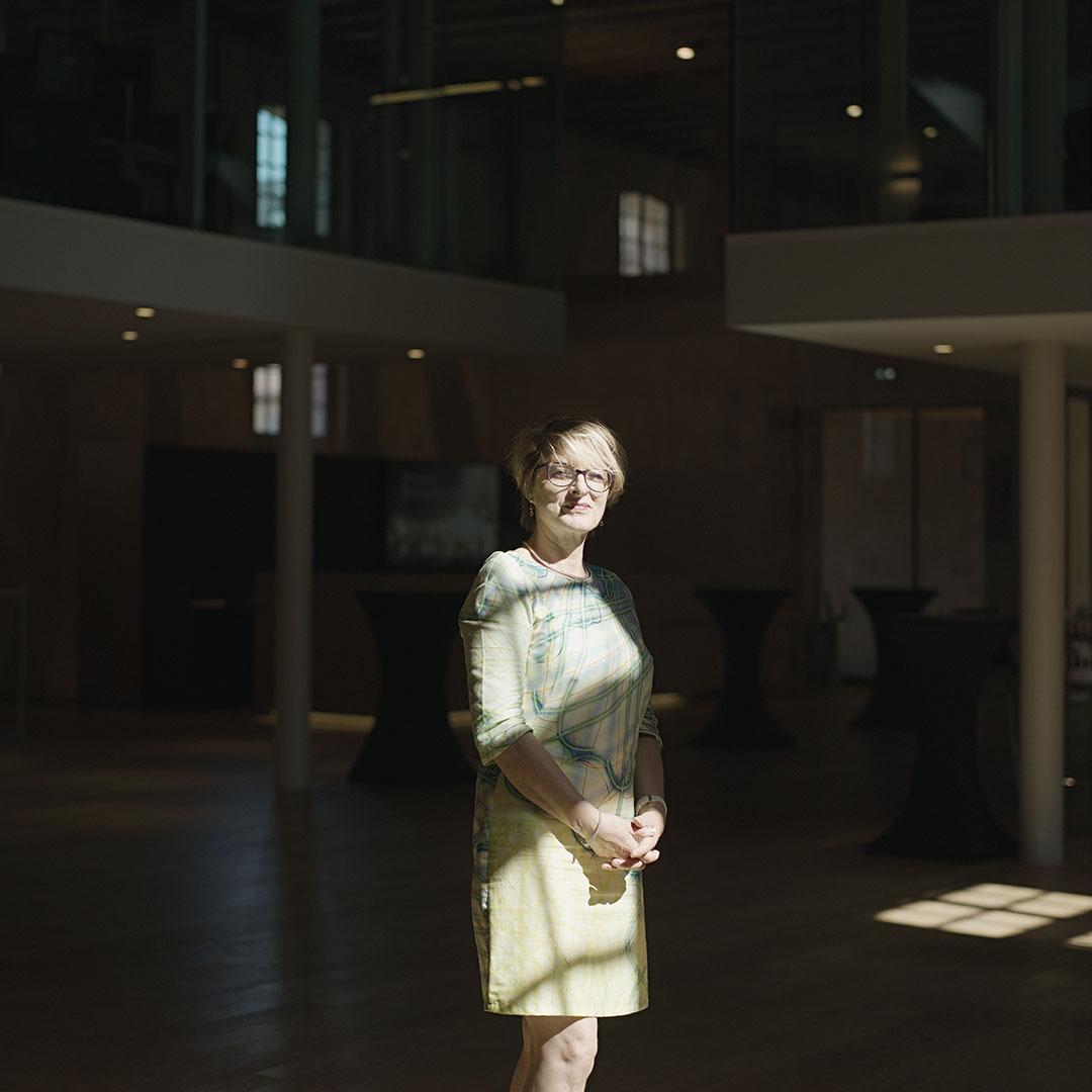 Hors-série Ks Groupe - Chantal Klein, responsable du biocluster des Haras. Photo : Henri Vogt
