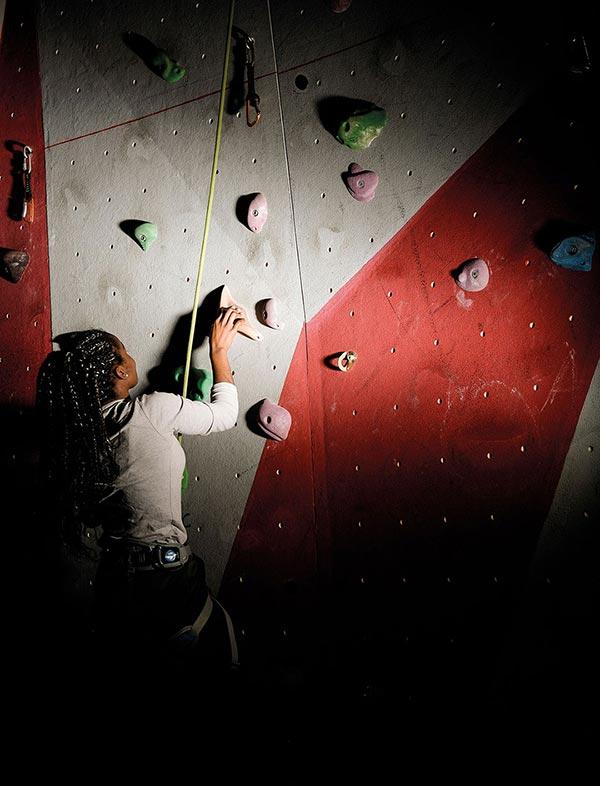 ZUT Magazine - Le sport à l'école au lycée Marie Curie, à Strasbourg. Photo : Pascal Bastien