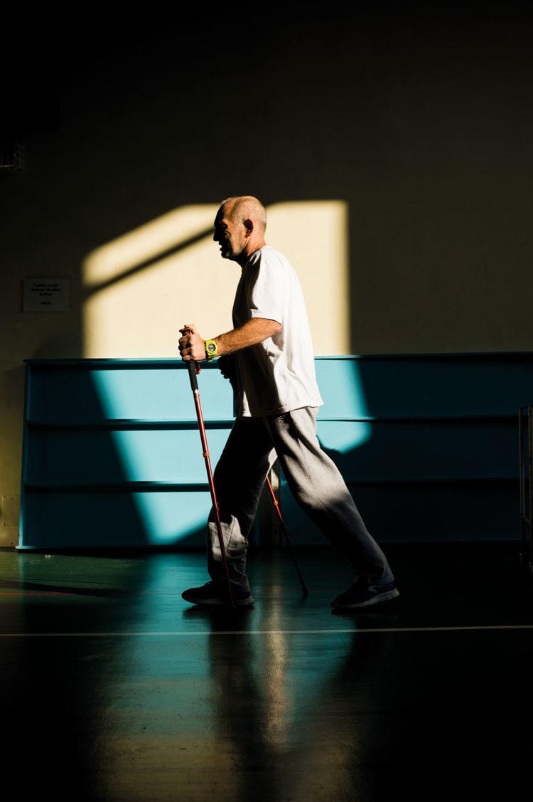 Sport hors les clubs : Centre de réadaptation fonctionnelle Clemenceau - Photos : Pascal Bastien