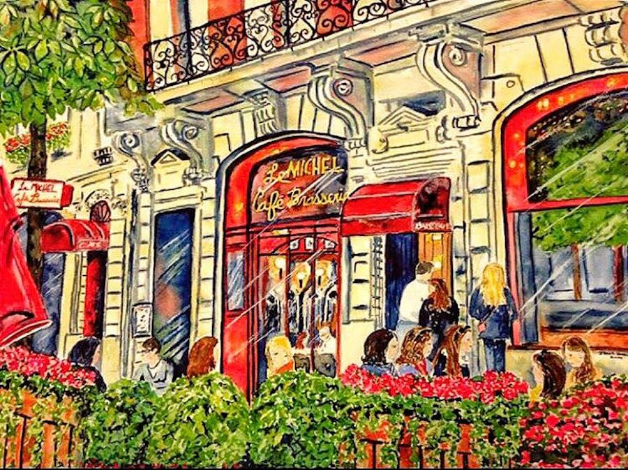 Illustration de la brasserie Snack Michel