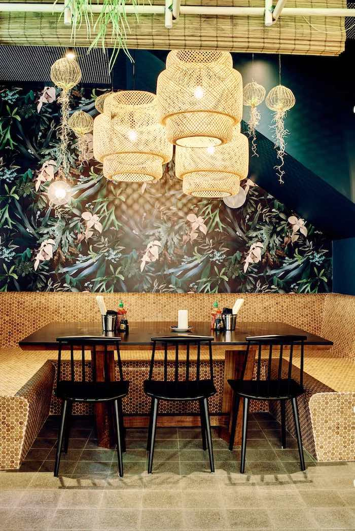 Restaurant East Canteen à Strasbourg. © Henri Vogt