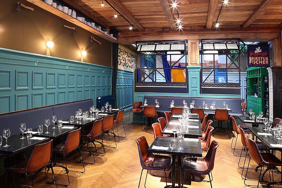 Le restaurant La Hache à Strasbourg.