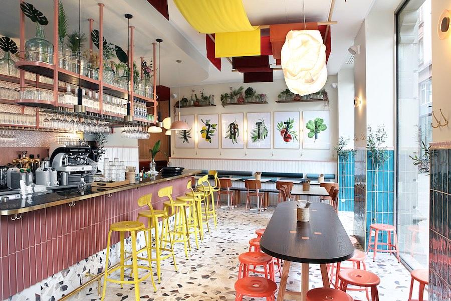 Le restaurant Tzatzi à Strasbourg. © Alexis Delon / Preview