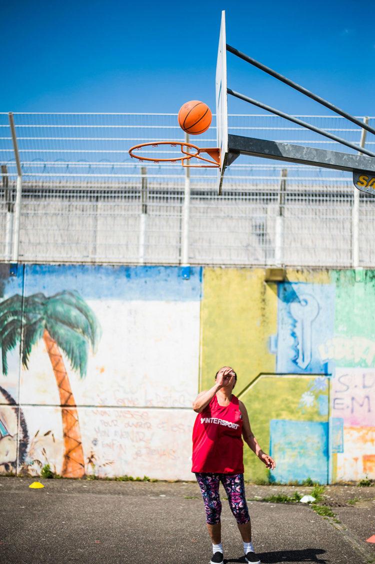 Sport hors les clubs : prison - Photos : Pascal Bastien