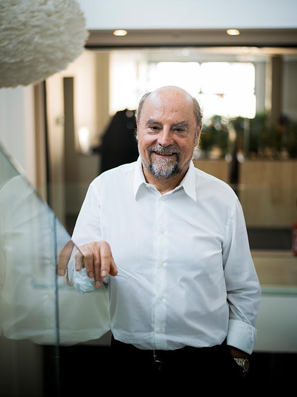 Richard Sauer, président de l'entreprise KS groupe à Bischheim. Photo : Pascal Bastien