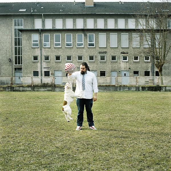Alexandre Bureau alias Rob, photographié par Christophe Urbain