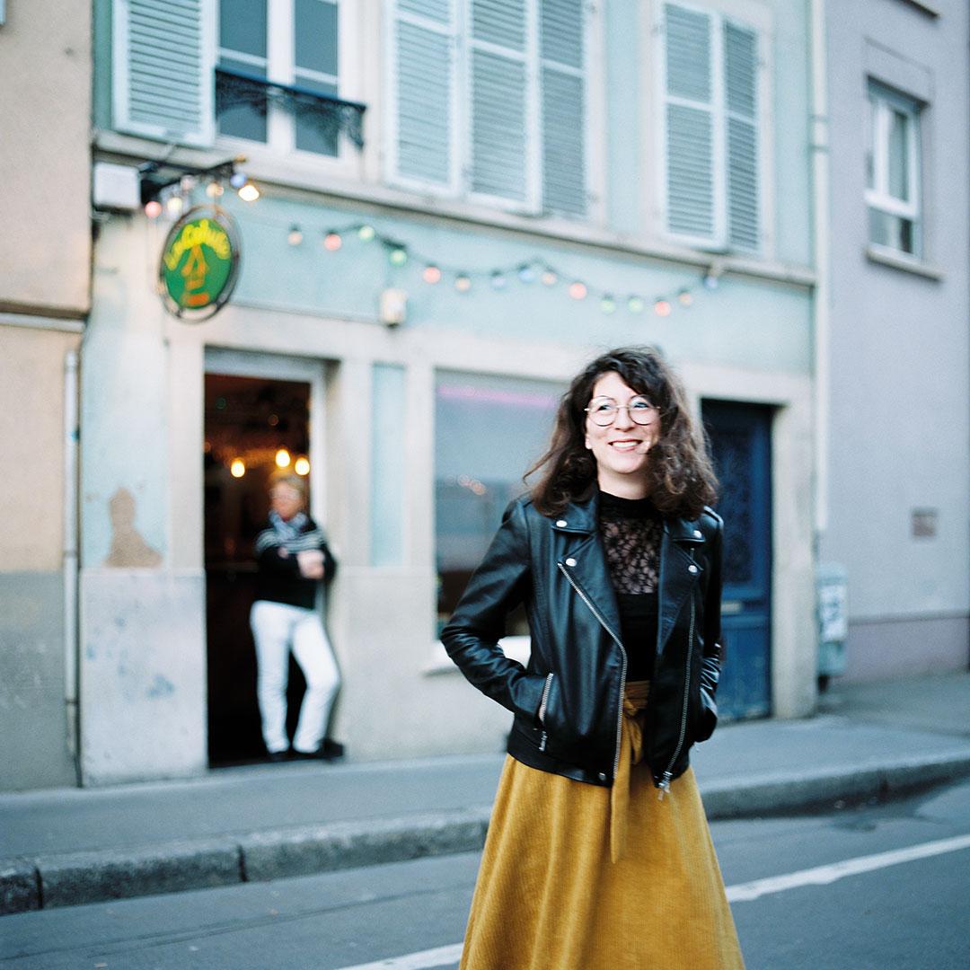 Cécile Becker, journaliste et rédac' chef Zut à table - chicmedias - ©Christophe Urbain