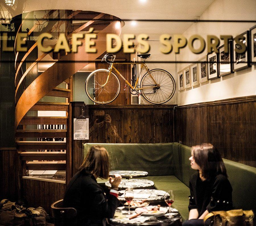 Le bar Le Café des Sports à Strasbourg © Pascal Bastien