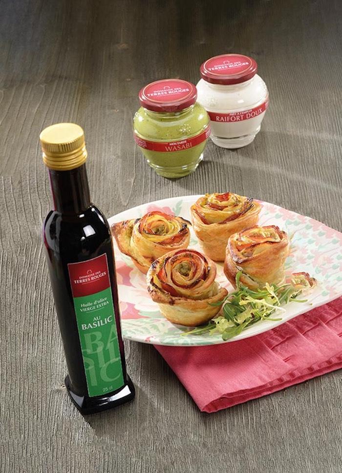 Des moutardes et vinaigres du Domaine des Terres Rouges qui ajouteront des saveurs à tous vos plats. © Marcel Ehrhard