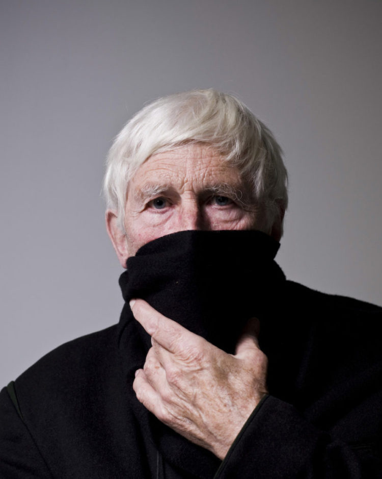 Tomi Ungerer, dessinateur, portrait à Strasbourg. © Pascal Bastien