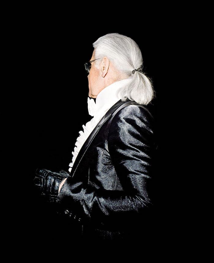 Karl Lagerfeld @ Olivier Roller