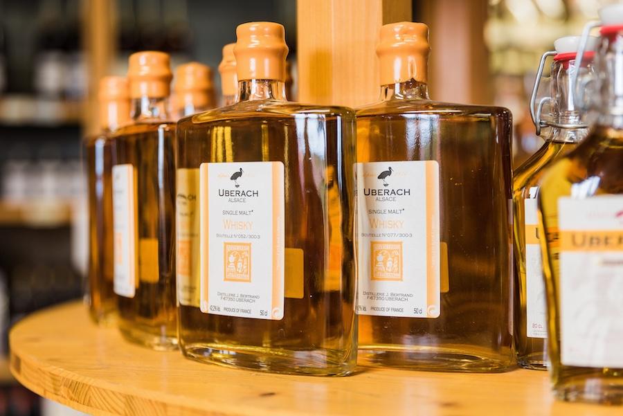 Whisky de la distillerie Bertrand. © Milan Szypura