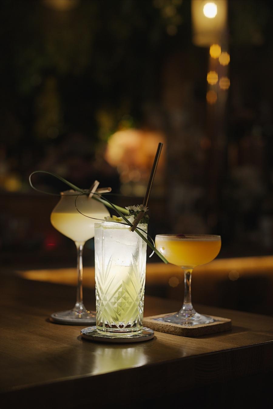 Cocktail de la Cabane bar Strasbourg. © Henri Vogt