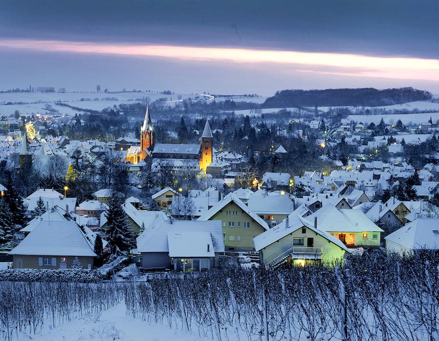 Wissembourg sous la neige © Frantisek Zvardon