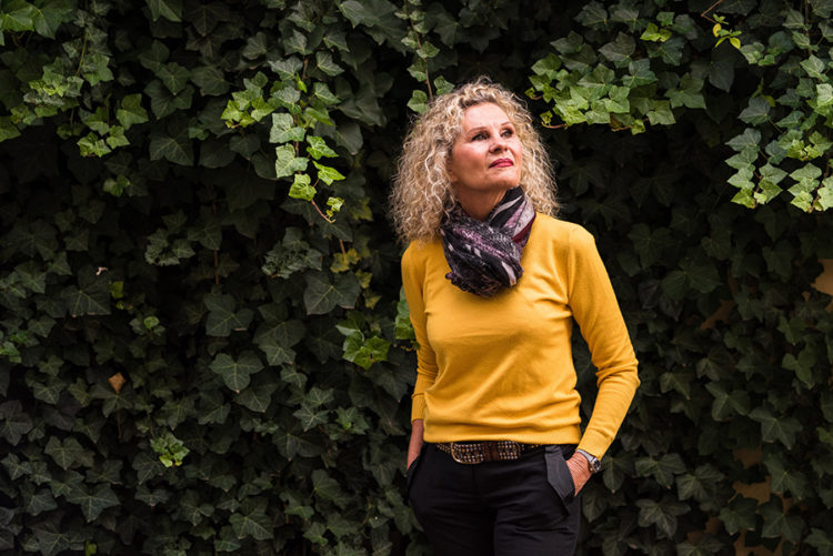 Yolande Koch-Thomassin, auteure du livre Quand sert la parole. © Milan Szypura