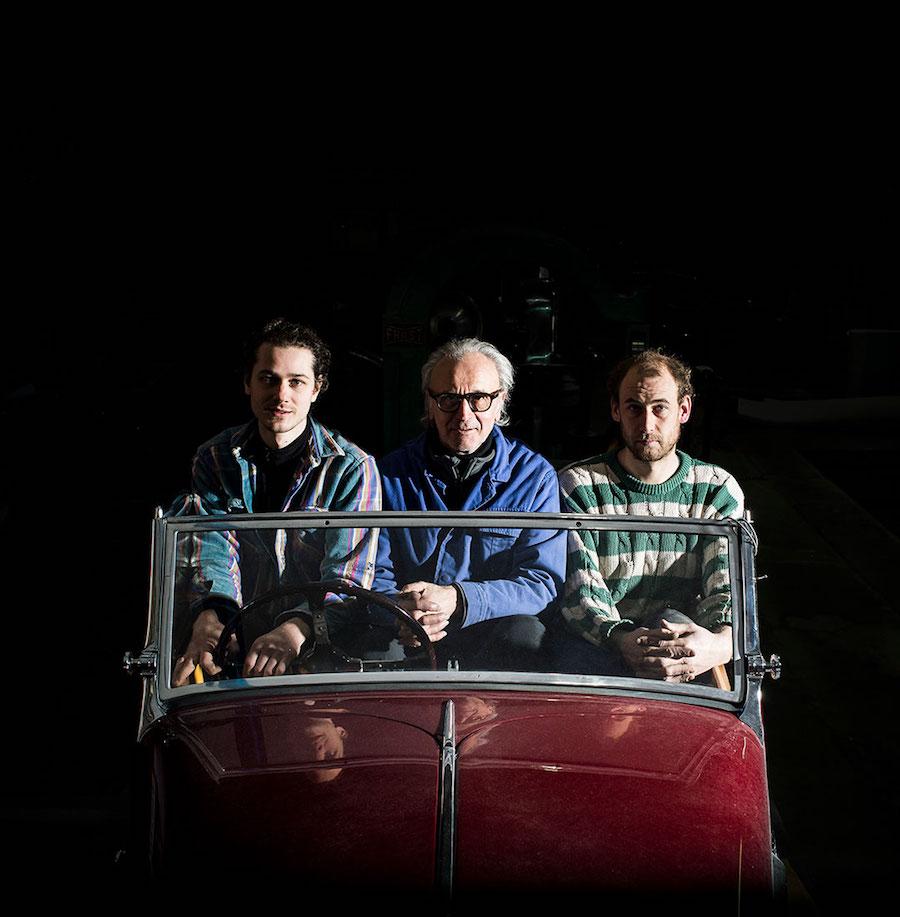 H.H. Services Romain Gougenot, Hubert Haberbusch et Isaak Rensing © Pascal Bastien