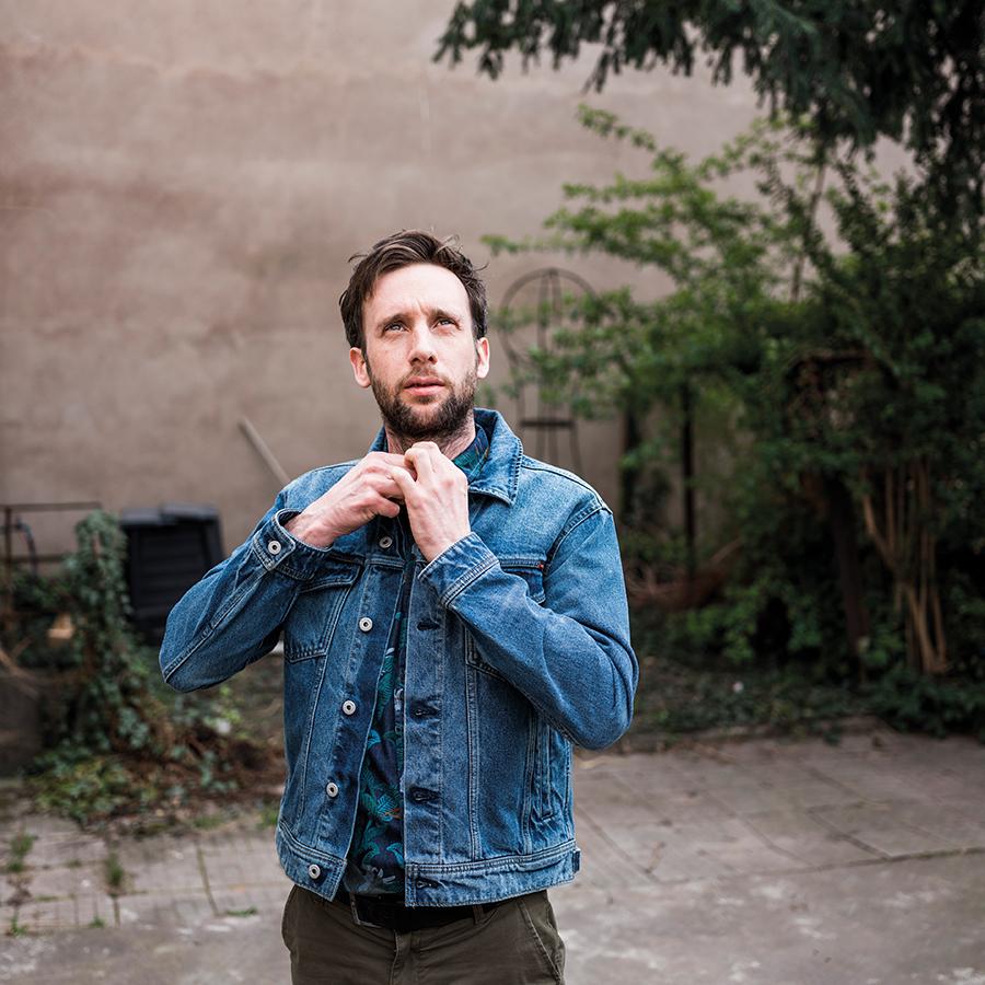 Benjamin Bendorf de la brasserie Bendorf, photographié par Pascal Bastien