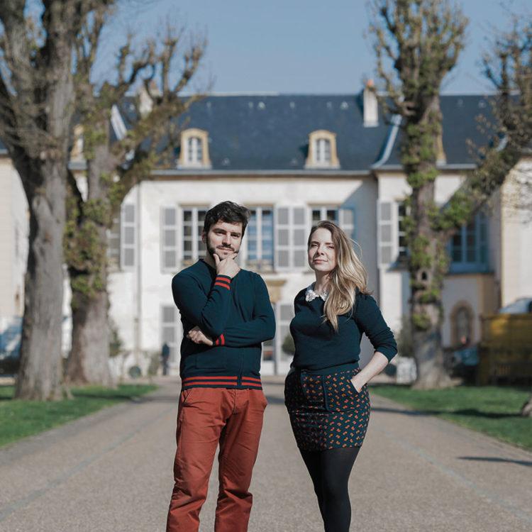 Ugo Schimizzi et Marine Pellarin fondateur et fondatrice del'escape game Les Francs Limiers à Metz © Romain Gamba
