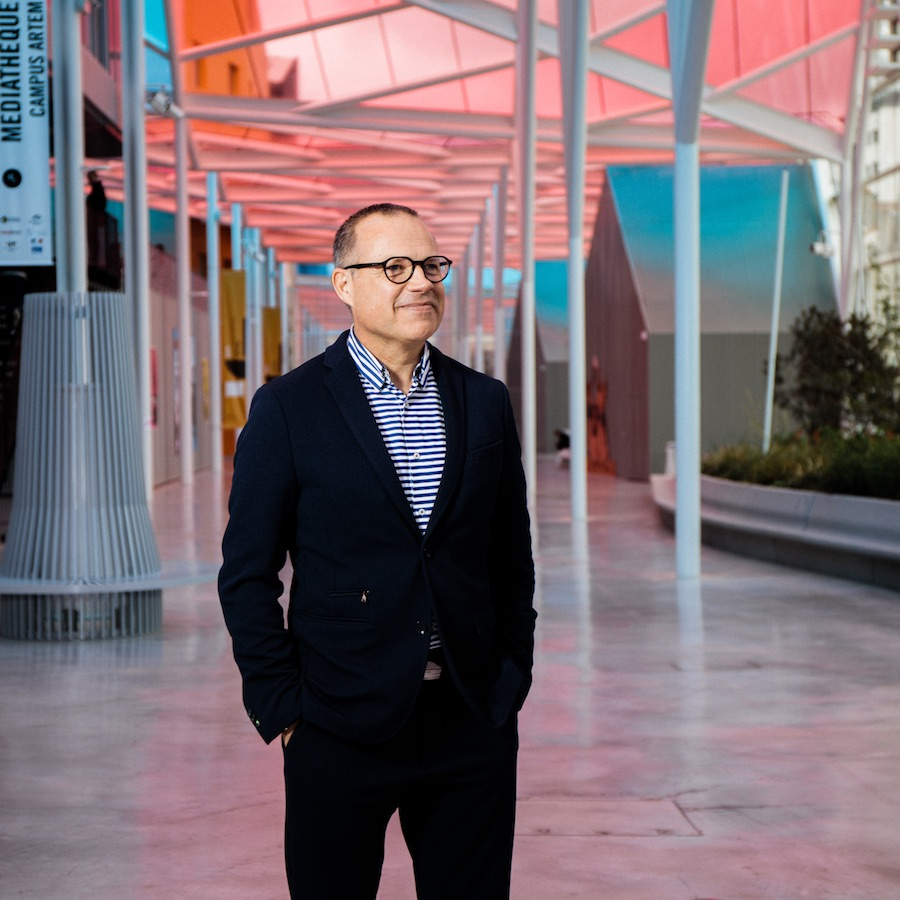 Hervé Gaudin directeur marketing et communication de l'ICN à l'Artem Nancy © Arno Paul