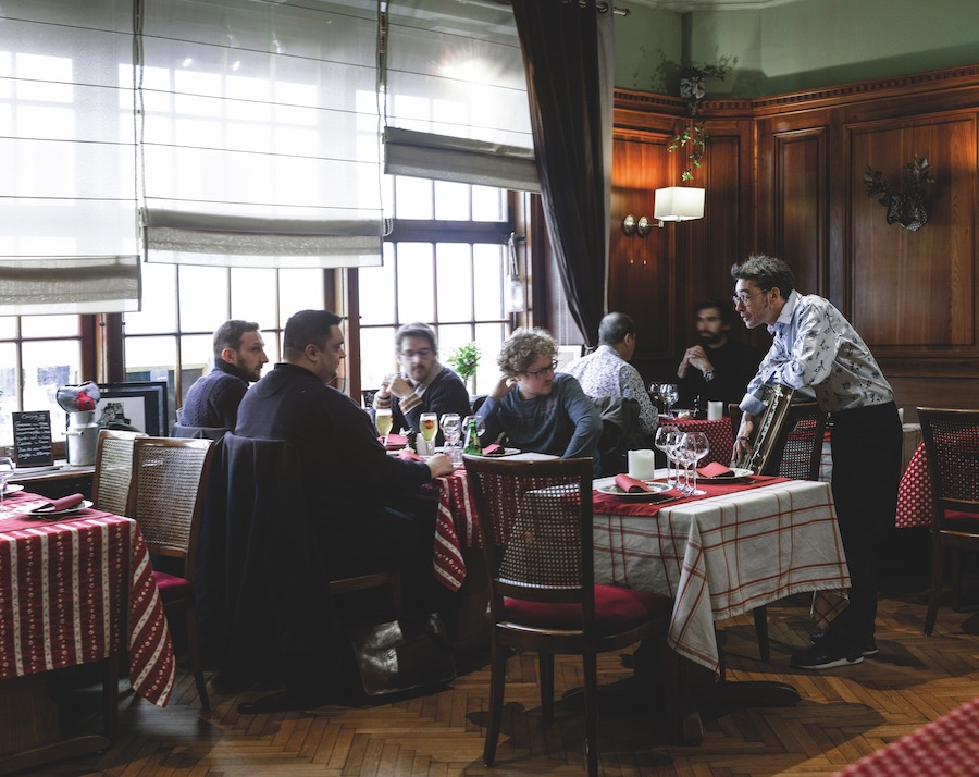 La Cruche Winstub Restaurant Strasbourg Emmanuel Morin © Christophe Urbain