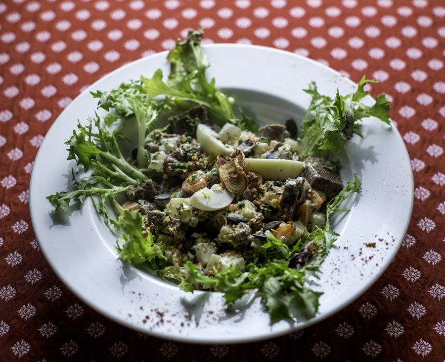 Salade de pot-au-feu - La Cruche ©Christophe Urbain