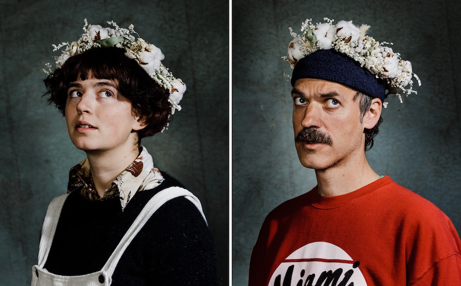 Pauline et Axel du groupe Pi Ja Ma. © Arno Paul