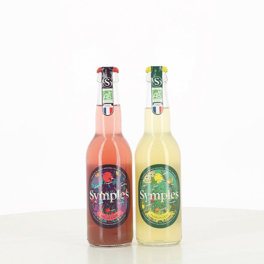 Symples boissons bio made in France plantes herbes aromatiques