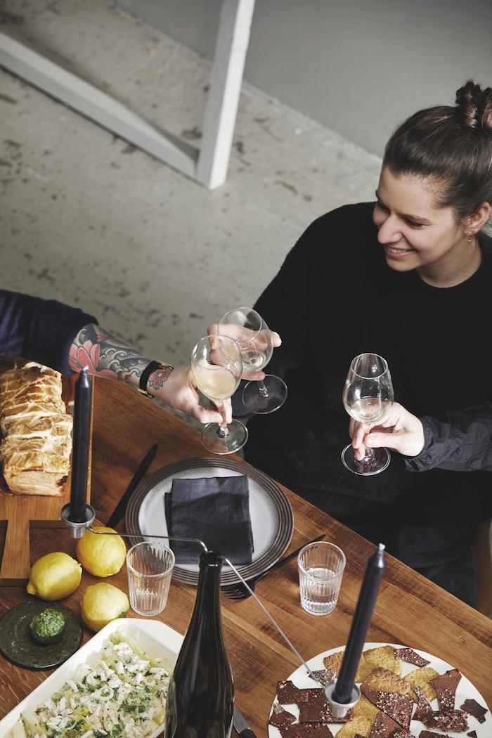 Bérengère Pellissard, comptoir à manger restaurant Strasbourg. © Alexis Delon / Preview