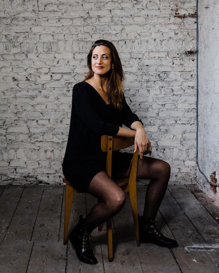Portrait de l'auteure et blogueuse Agathe Ruga © Arno Paul