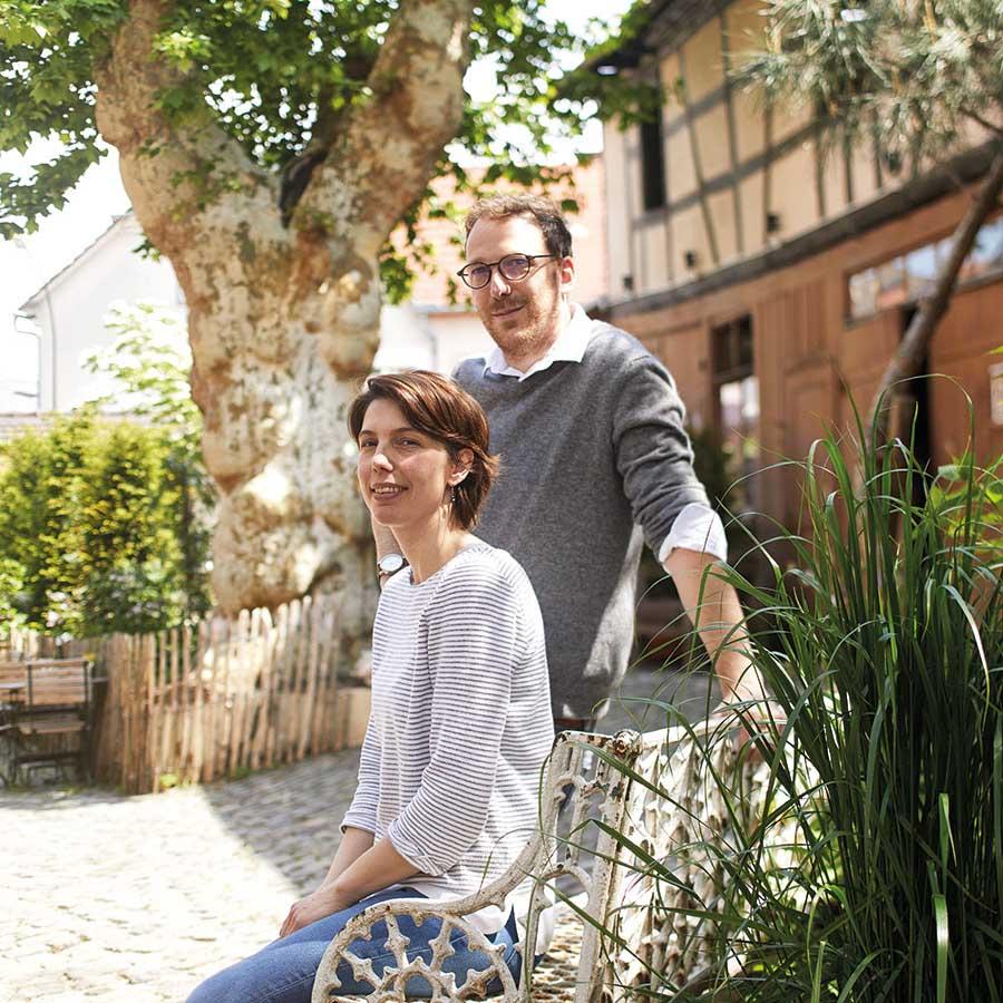 Jean et Christelle Wagner, propriétaires du restaurant l'Ours à Bischwiller. © Alexis Delon